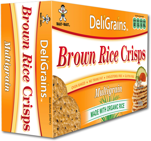 DeliGrains Brown Rice Crisps Multigrain